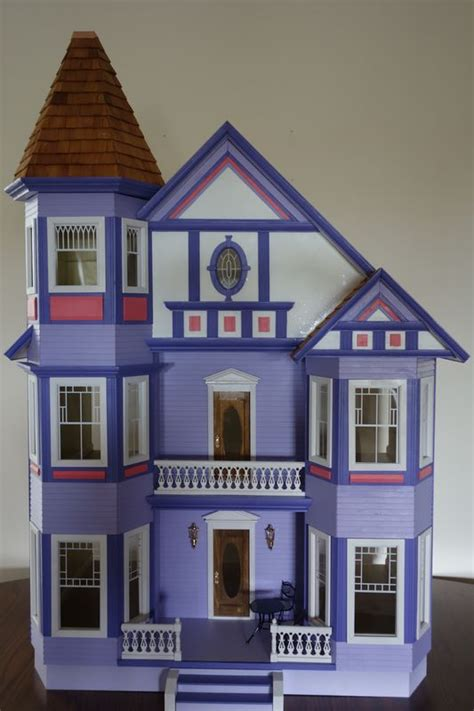painted doll houses 1000 images about dollhouses artistic unique on pinterest queen anne dollhouse