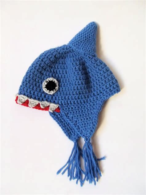 baby shark hat baby shark hat crochet animal hat fun baby hat by