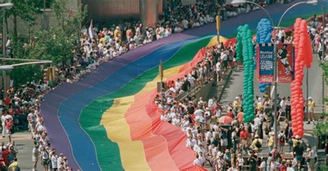 gay section of nyc gay pride march 1994 photos lgbt rights movement in