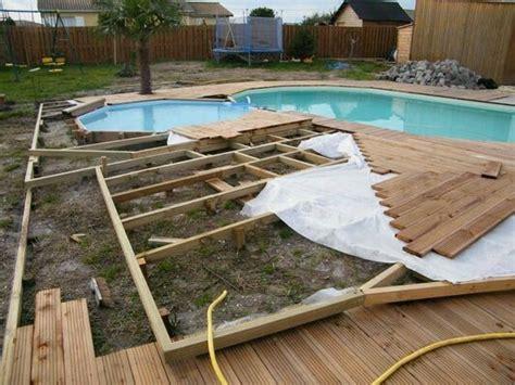 1000 id 233 es 224 propos de piscine bois sur
