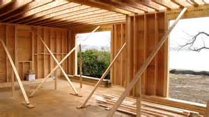 How To Build A House Frame Custom Home Framing 2nd Floor