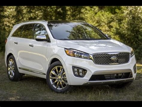 Buy Used Kia Sorento 2016 Kia Sorento Start Up Road Test Review 3 3 L V6