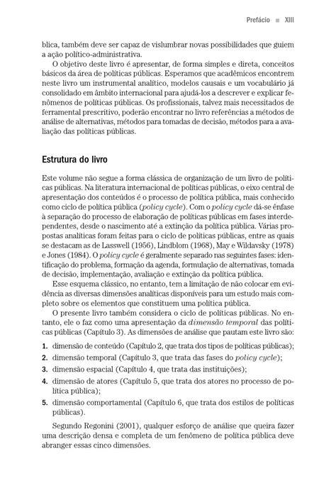 Políticas Públicas - Conceitos, esquemas de análise, casos