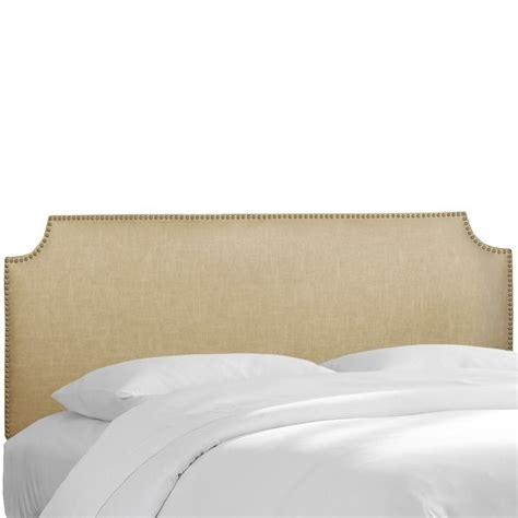 upholstered headboard nailhead trim skyline upholstered nailhead trim twin headboard in