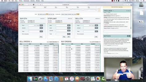 bitcoin exchange tutorial tutorial for beginners poloniex online cryptocoin bitcoin