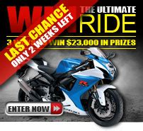 Motosport Ultimate Ride Giveaway - motorcycle safety protective gear motosport