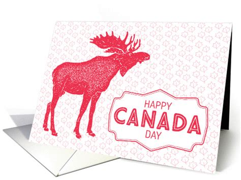 canada day greeting cards 3 kidspressmagazine com illustrated moose maple leaves canada day card 1435972