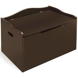 espresso toy chest bench overstock the espresso bench top toy box is attractive