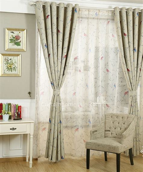 curtain patterns for bedrooms birds patterns curtains fabric for bedroom