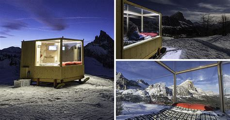 Starlight Cabins by This Tiny Cabin Lets Sleep In The Mountains