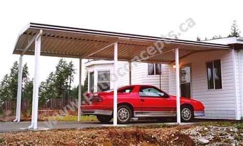 Carport Kits Canada Aluminum Patio Covers W Pan Deck Awnings And Carports