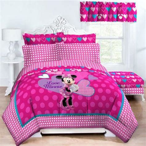 Minnie Mouse Bedding by Minnie Mouse Comforter Ebay