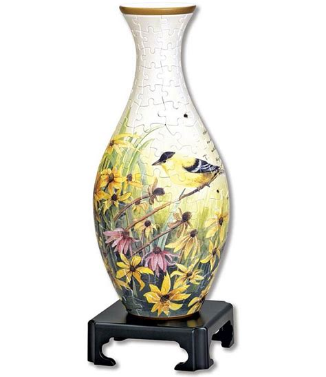 3d Vase by Lifestyle 3d Puzzle Vase Goldfinches