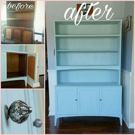 serenity blue paint beautiful 1966 rhythm china hutch painted with rustoleum serenity blue chalk paint and