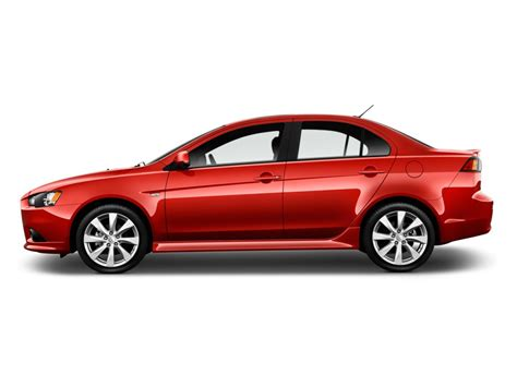 image 2013 mitsubishi lancer 4 door sedan cvt gt fwd side