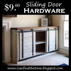 Barn Door Cabinet Hardware A New Cheaper Way To Do Sliding Doors On Furniture