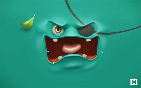 wallpaper cartoon monster hd apply wallpapers according to your mood