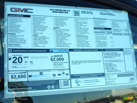 Gmc Window Sticker