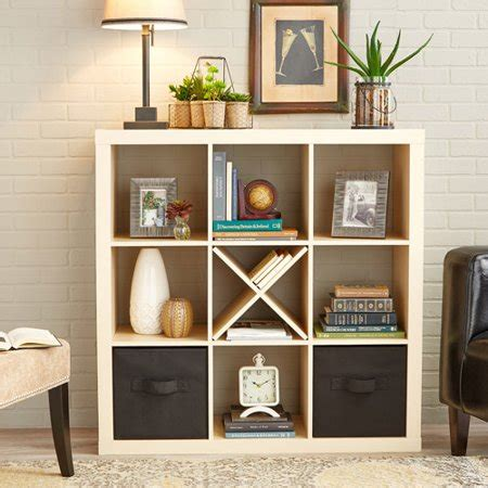 better homes storage cube better homes and gardens 9 cube storage organizer colors walmart