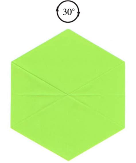 How To Make A Hexagon Out Of Paper - how to make a regular hexagon out of square paper page 9