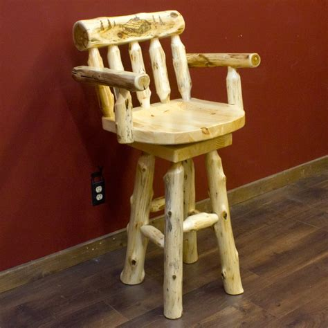 Rustic Wood And Iron Bar Stools by Rustic Log Iron Reclaimed Wood Bar Stools And More Log Bar