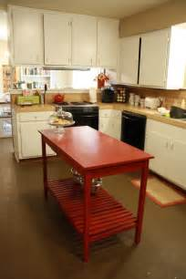 Kitchen island table diy 8 diy kitchen islands for