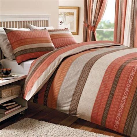 dunelm mill bed linen sets terracotta mizar collection duvet cover set dunelm