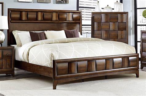 porter king panel bed porter warm walnut king panel bed from homelegance 1852k