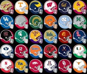college football colors the top 10 most iconic helmets in college football