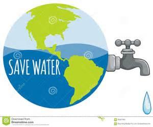 wasserhahn wasser sparen save water sign with tap water stock vector image 60567905