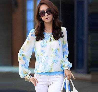 Casual Chiffon Peek A Boo Layer Puff Blouse Santai Prem Qlty Import 1000 images about tops blouses on s tops s blouses and sleeve