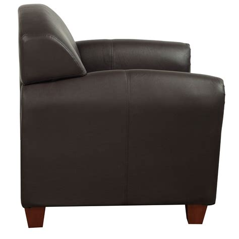 Brown Leather Lounge Chair by Office Products Used Pu Leather Lounge Chair Brown