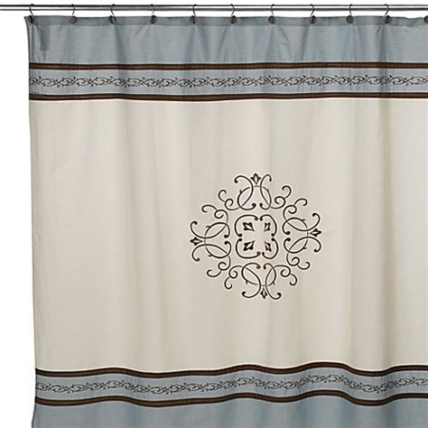 hotel collection shower curtains buy hotel collection landon 72 inch x 96 inch fabric