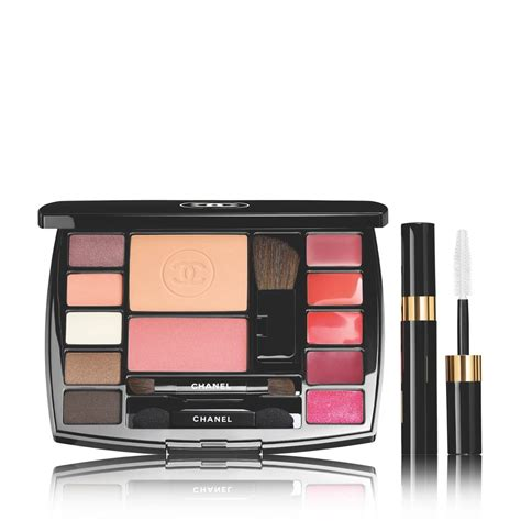 Make Up Chanel Sepaket chanel travel make up palette beautyglow