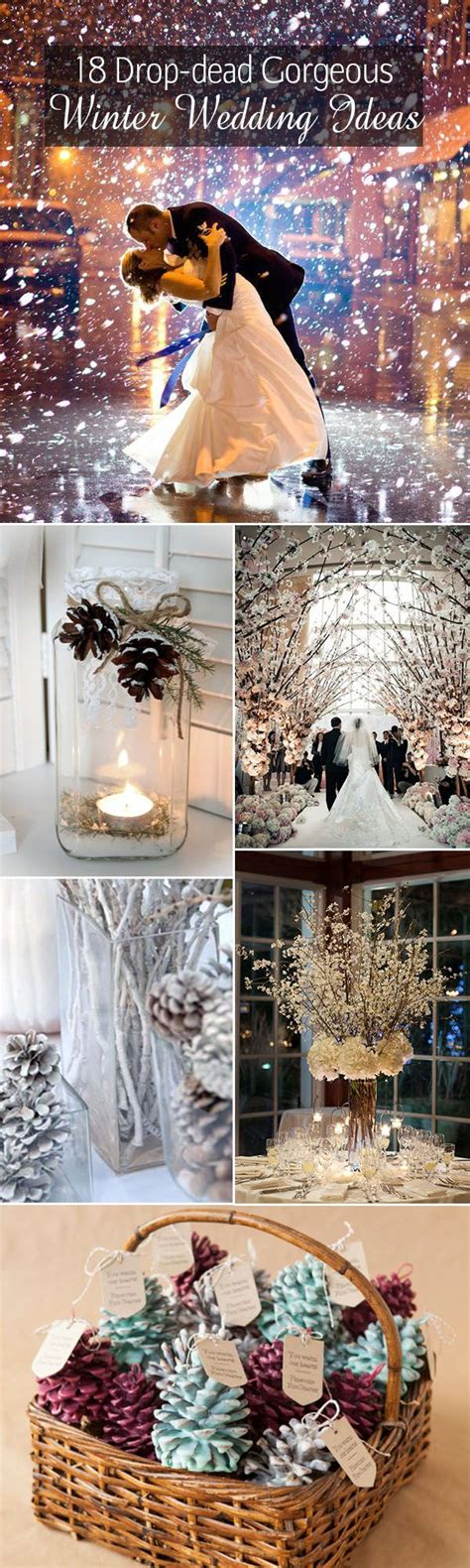 18 drop dead gorgeous winter wedding ideas my wedding