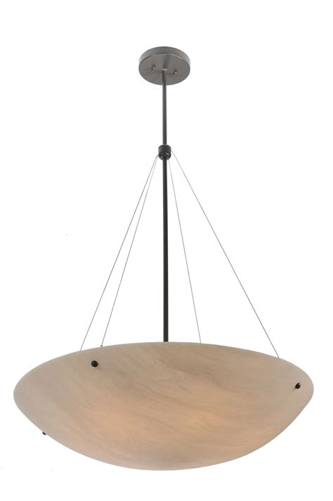 Inverted Bowl Pendant Lighting Meyda 117691 Cypola Inverted Bowl Pendant