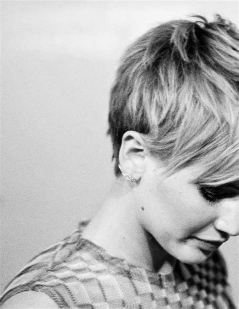 pixie cut with long front jennifer lawrence pixie cut long in the front short in
