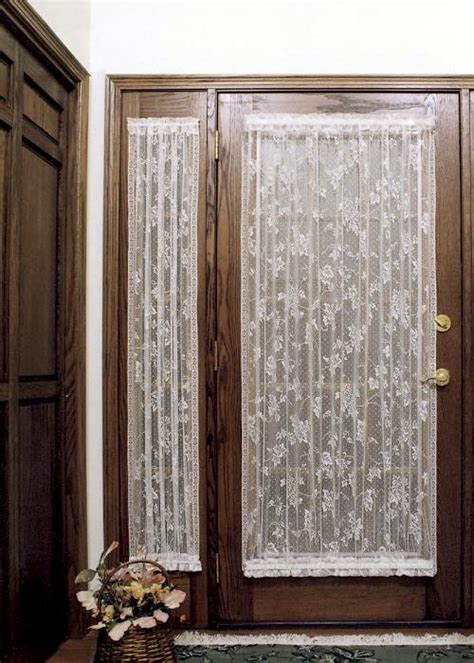 sidelight curtain panels english ivy 24 215 38 sidelight panel heritage lace 9130e