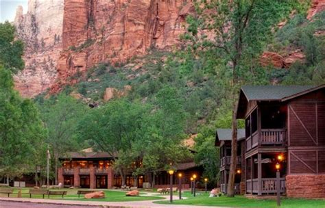 zion national park lodging guide national park