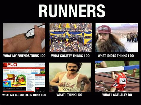 Runner Meme - mom athlete etc weekend humor runner style