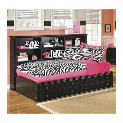 nebraska furniture mart bookcases jaidyn twin bookcase bed in black nebraska furniture