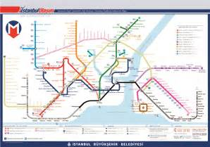 Istanbul Metro Map by Istanbul Metro Map Istanbul Tour Guide