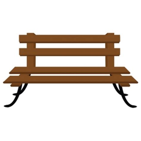park bench art free bench clipart image 0515 1001 0204 0209 furniture
