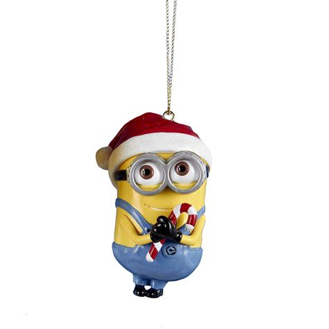 despicable me minion christmas ornament carl shop your