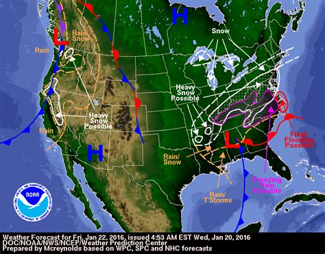 us blizzard weather map winter quot jonas quot to hit the us east coast with heavy