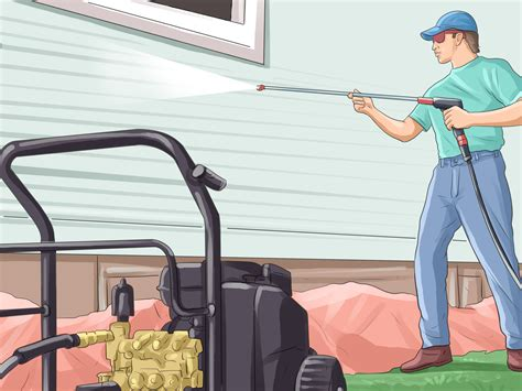 power washing house how to power wash a house 7 steps with pictures wikihow