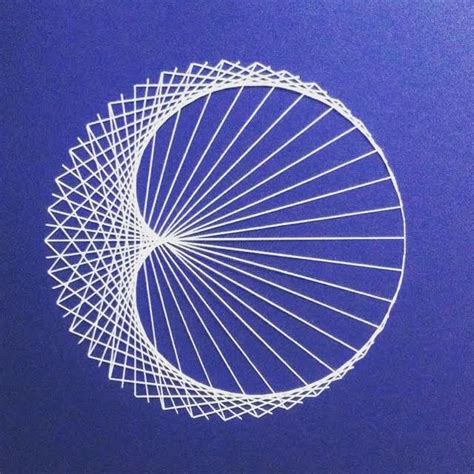 string art pattern moon string art signe balling