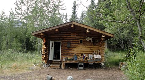 Creek Cabins by Nugget Creek Cabin Wrangell St Elias National Park Preserve U S National Park Service