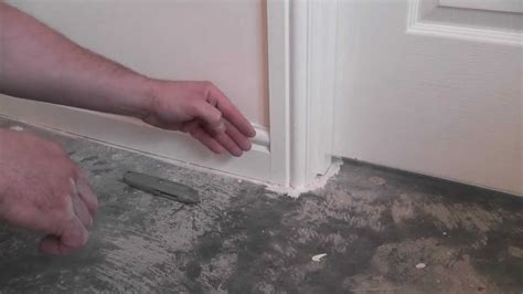 Tiled Bathroom Ideas Pictures by How To Remove Skirting Tutorial Youtube