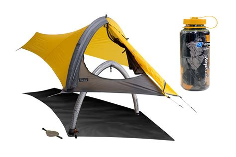 Light Weight Tents by Nemo Gogo Elite 1 Person Minimalist Air Supported Tent